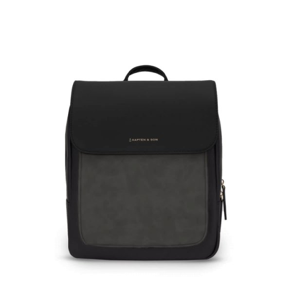 Kapten & Son Rucksack Tromso Small All Black