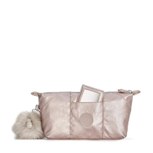 Kleine Tasche Beauty of gifting EWO metallic blush