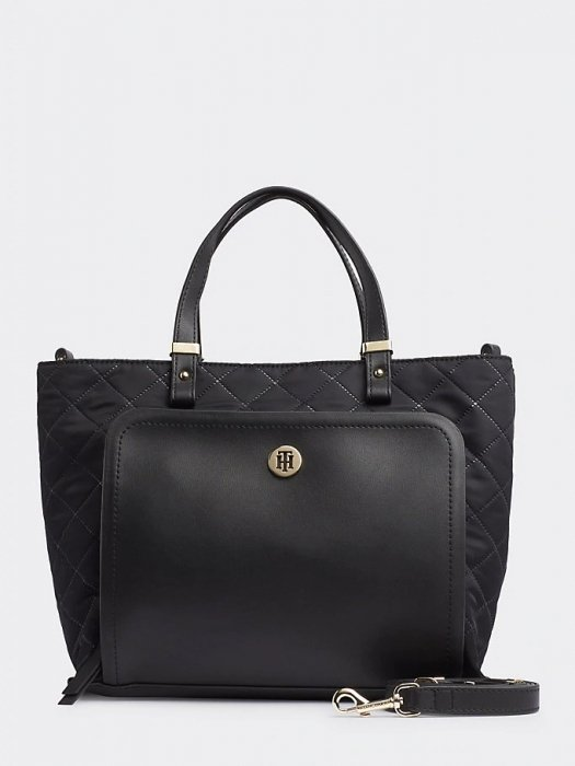 Shopper TH Elegant Tote Quilted One schwarz