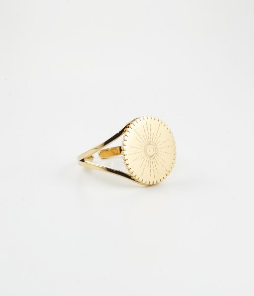 ZAG Bijoux Ring Auge Isis Gold