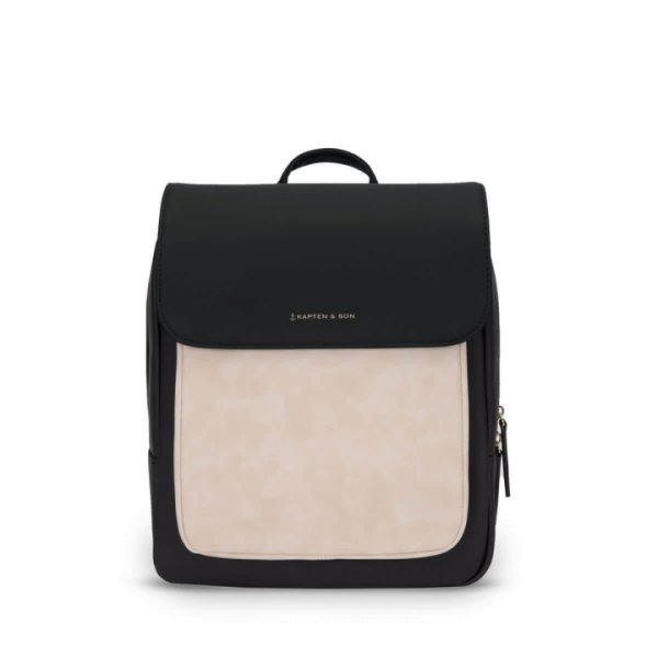 Kapten & Son Rucksack Tromso Small Cream Black