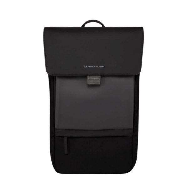 Kapten & Son Rucksack Goteborg All Black