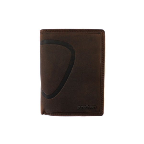 Baker Street Billfold V8 dark brown