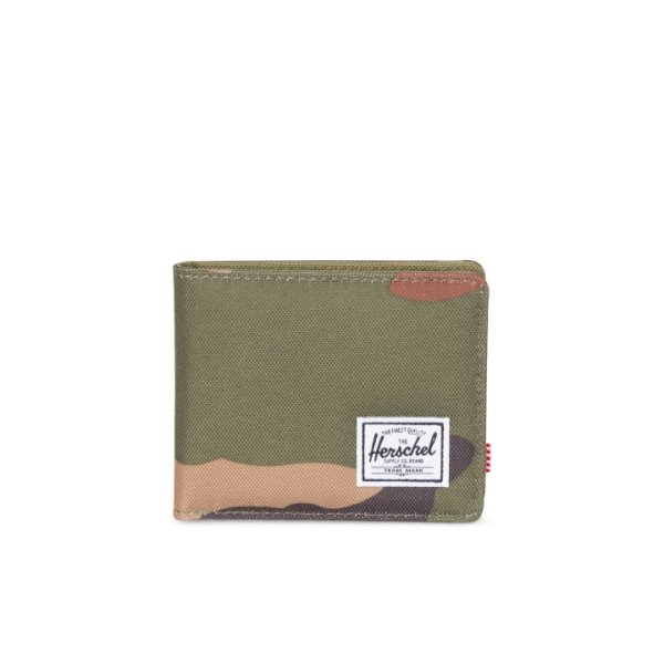 Roy + Coin RFID Camo Wallet