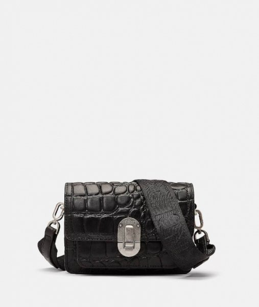 Liebeskind Berlin Joan Crossbody XS Croco black