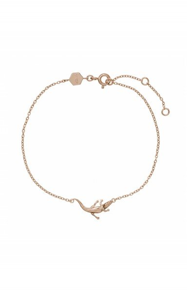 Armband Force Tropicale Rosegold Alligator Krokodil 925 Sterling