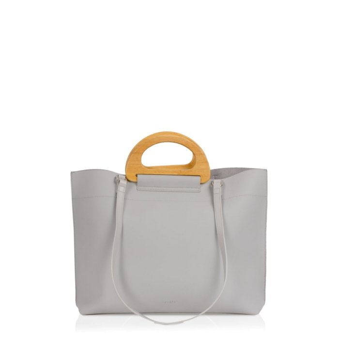 MAÉLYS Tote light grey