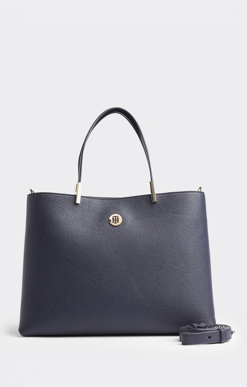 Shopper Satchel navy