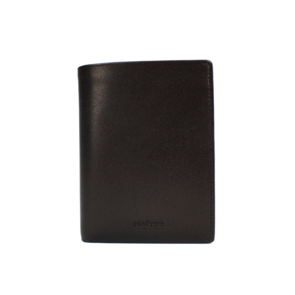 Brushied Aribert Wallet V9 dark brown