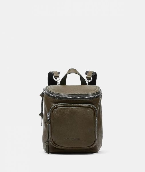 Liebeskind Berlin Tamora Backpack XS umber green