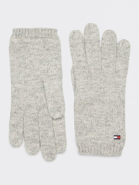 Handschuhe Flag Knit Gloves - Variante: Dark Grey Melange / Dunkelgrau