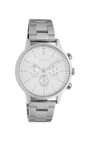Oozoo Uhr Timepieces Silber 38 mm