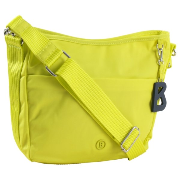 Schultertasche verbier irma mvz Nylon light yellow Bogner