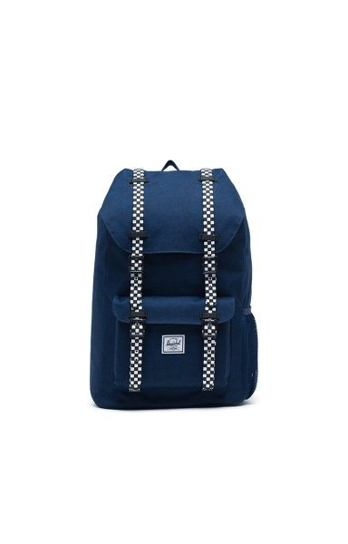 Rucksack Little America Youth - Variante: Medieval Blue Crosshatch/Checkerboard