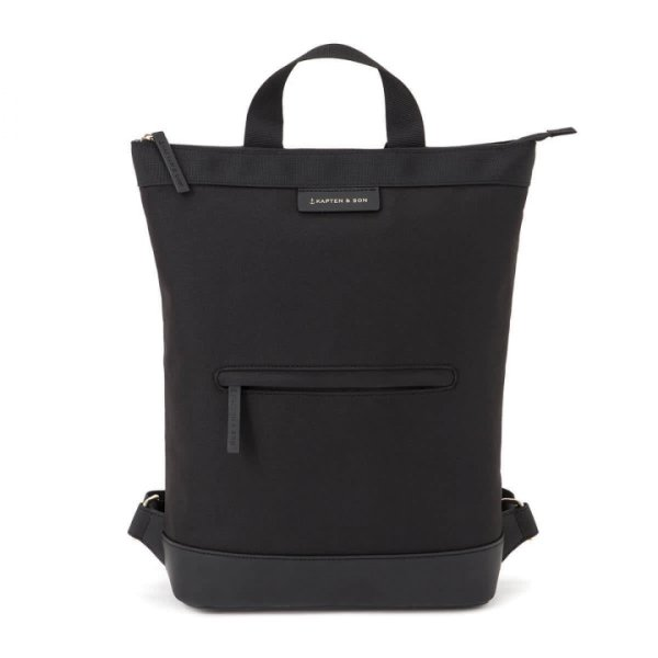 Kapten & Son Rucksack Umea All Black