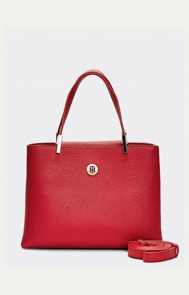 Handtasche TH Core Med Satchel - Variante: Barbados Cherry / Rot